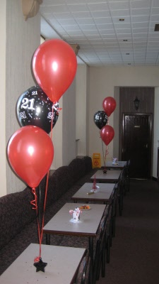 Gold Star Auto >> Adult Party Balloon Decorations